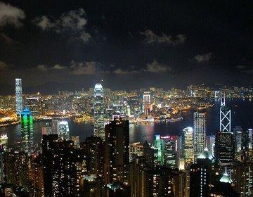 """【香港】世界三大夜景に選ばれた、アジアNo1の夜景が見れる""""ビクトリアパーク"""""""