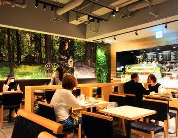 【なんば・ひとり】待ち合わせにオススメ!なんばシティ内にある森カフェはアクセスもコスパも抜群です!