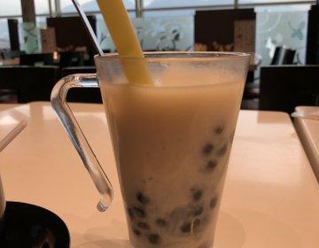 香港空港♡飛行機を見ながらカフェ『台湾牛肉麺』