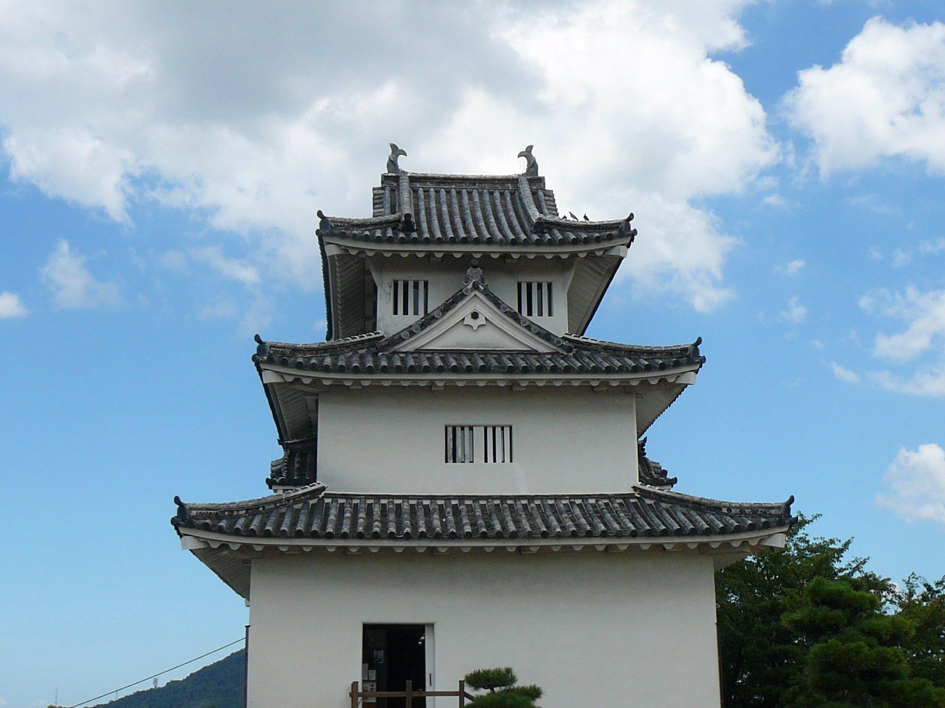 石垣の高さが日本一!香川県丸亀市にある【丸亀城】に行ってきた!