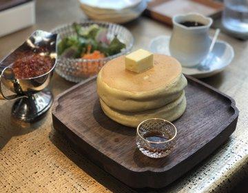 行列のできる銀座おすすめパンケーキ♡北海道から『椿サロン』極上ほっとけーき