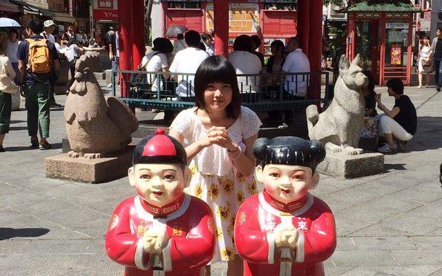 南京町商店街 長安門