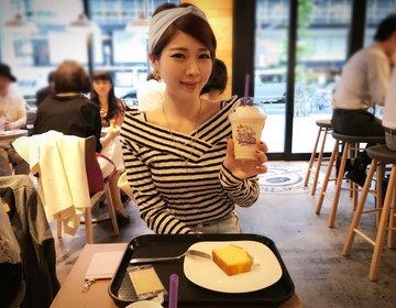 日本橋にある「コーヒービーン&ティーリーフ」の日本一号店でカフェタイムを !