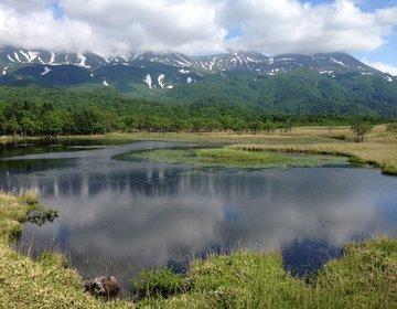 【知床】気軽にお散歩できる「高架木道」♪芸術的な知床連山と水鏡の一湖は、神秘的な美しさ☆