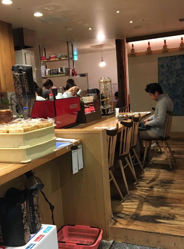 一歩一歩のカフェ食堂