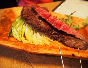 【子連れディナー×神田】BISTRO BROOK KITCHENで熟成肉を堪能♡