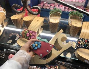 【台湾・九份旅行のオススメ】オリジナルサンダルが5分で作れるお店&オススメランチ
