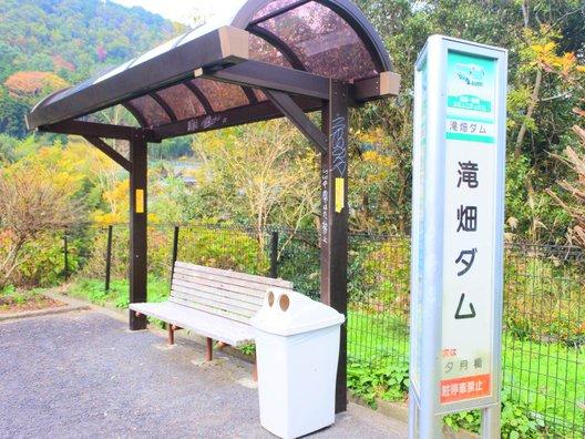 滝畑ダム/南海バス