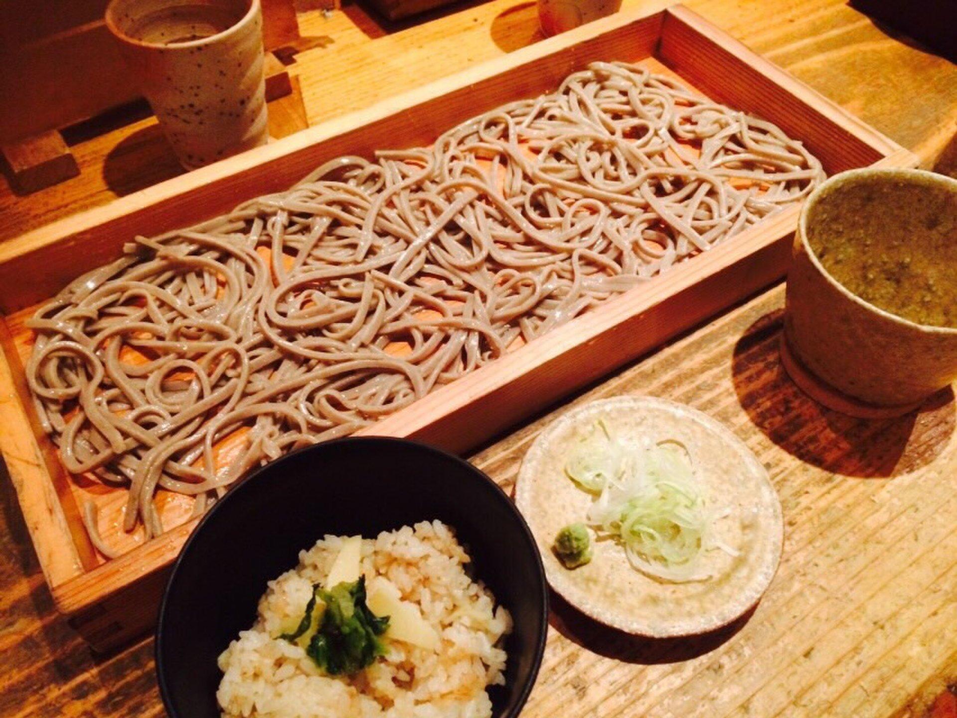 【恵比寿でランチそば女子会♡】恵比寿一おいしいそば屋『香り屋』で、そばをおいしく堪能するん♪