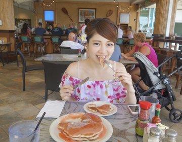シナモンズのピンクのパンケーキ♡ワイキキのおすすめ朝ごはん&おやつ♡ワイキキ