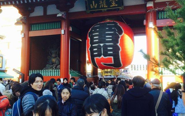 浅草寺 雷門 (Kaminarimon Gate)