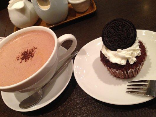 クイーンズコレクション チョコレートカフェ ダイカンヤマ