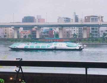 隅田川を眺めながらゆっくりとお茶出来るフォトジェニックなお洒落カフェ・ムルソー☆浅草駅から徒歩1分!