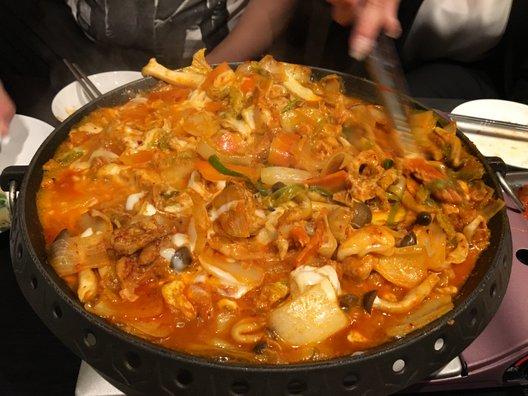 韓国料理 金家