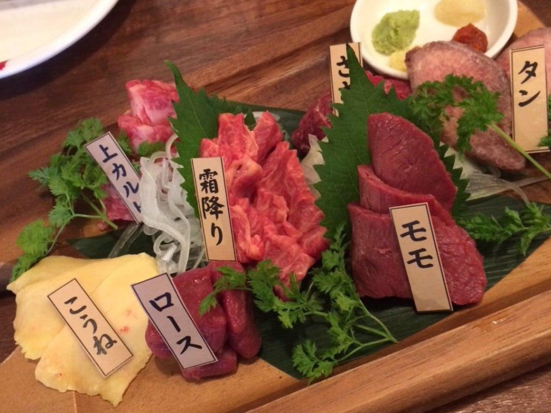 新橋駅近グルメ「馬酒場ボブリー」熟成馬肉の美味しさに感動!