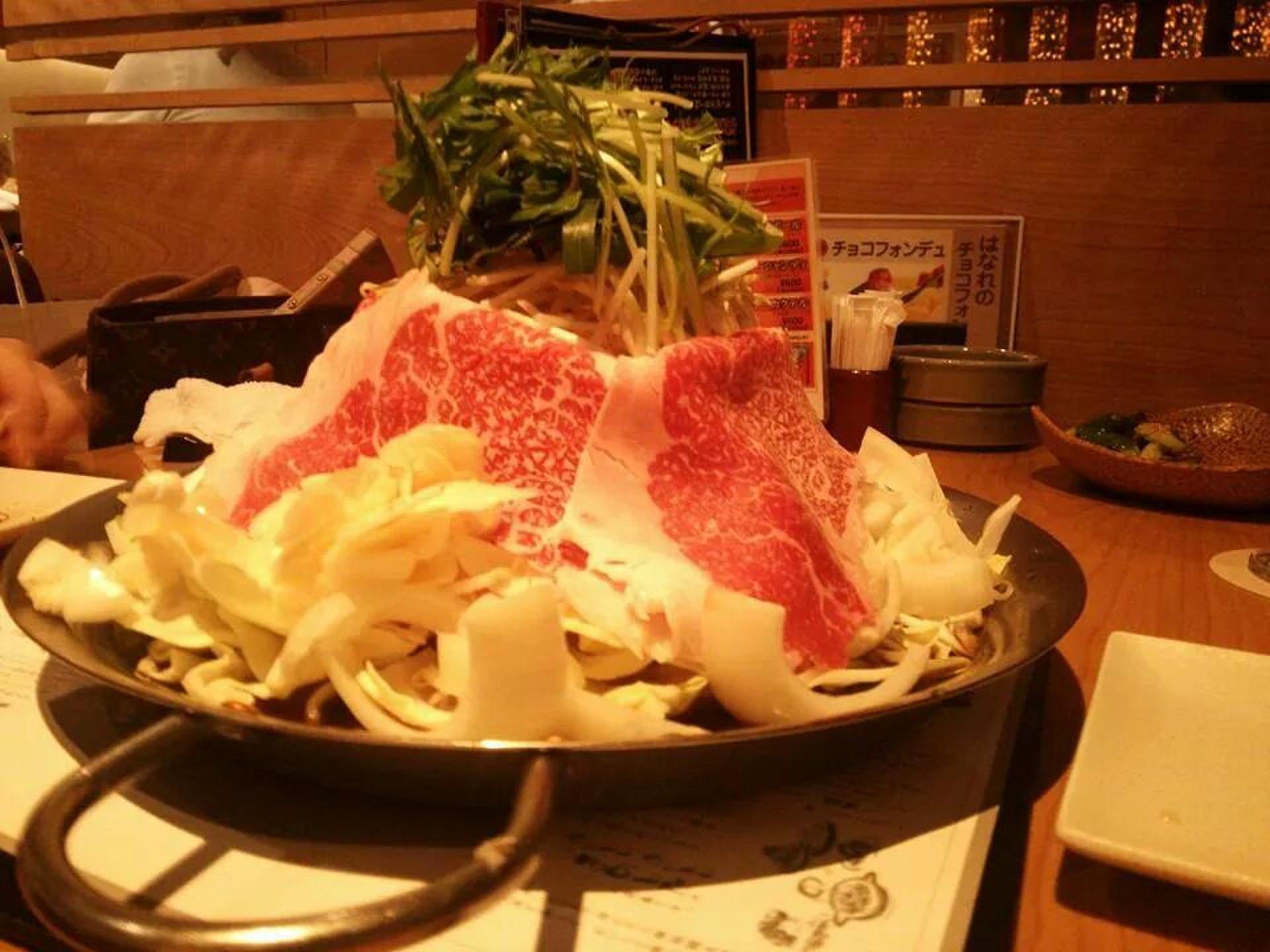 恵比寿で鉄板鍋をガッツリ食べる!きのした恵比寿はなれへ行こう!