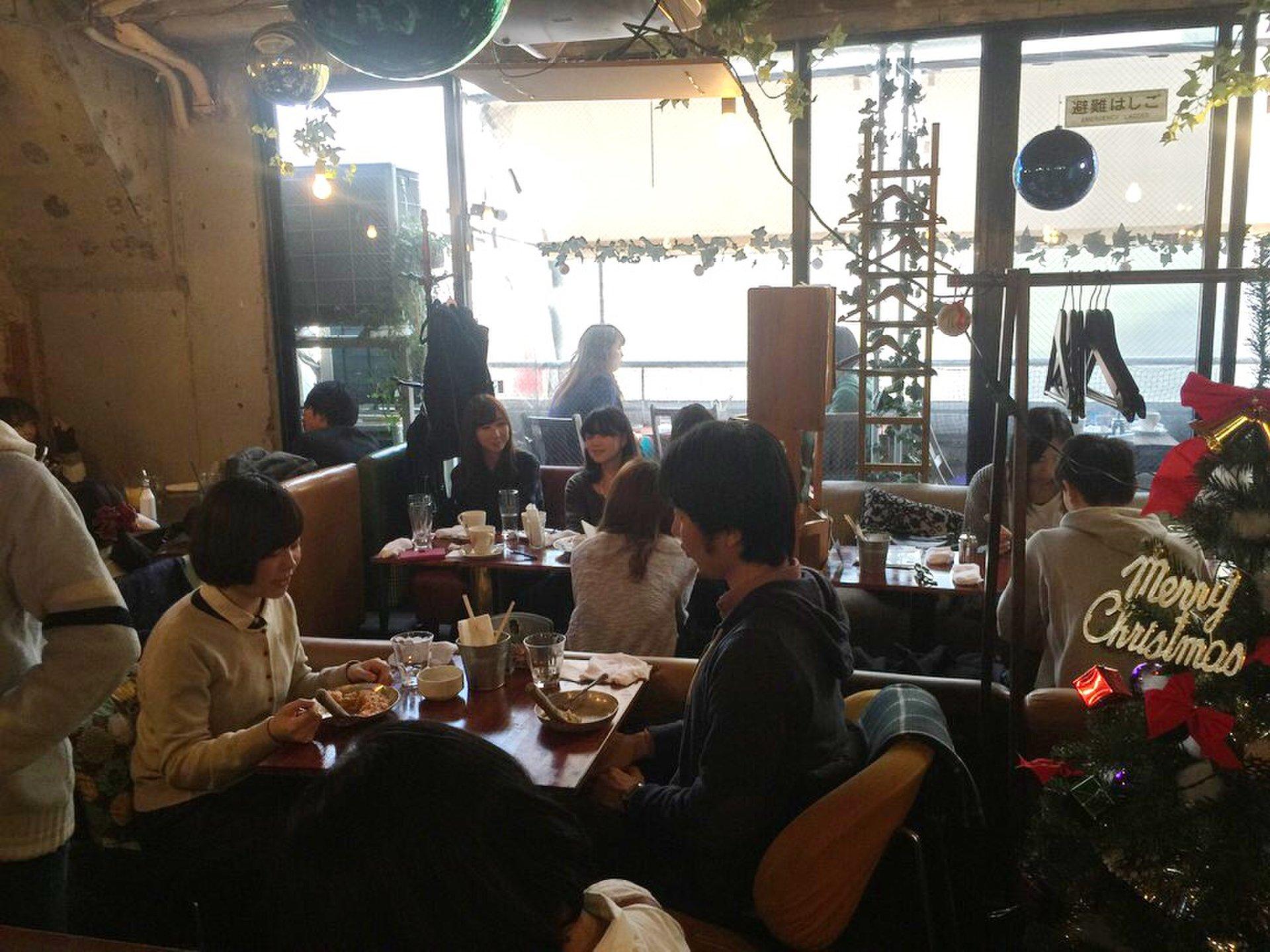 「Risotto Cafe 東京基地」のテラスで美味しいリゾットを!【渋谷デートにおすすめ】