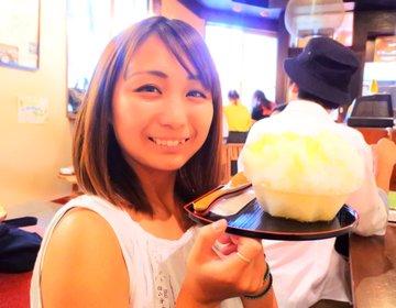 やっぱりシンプルが1番♡中崎町にある老舗たい焼き屋が本気で作るかき氷!