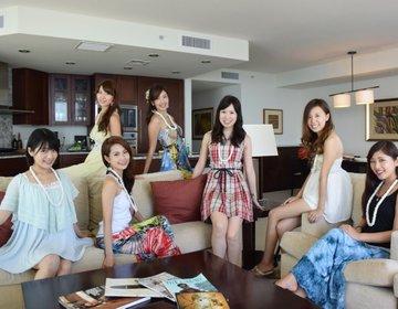 【ハワイ・ホノルル】女子の大人数観光♡高級ホテルトランプをお得に満喫♪周辺レストランやビーチも紹介
