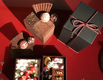 【新店】玉手箱 de Noël!フォトジェニック極まる絶品スイーツ@栞杏(リアン)1928