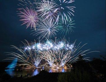 りんどう湖で3000発の水上花火を鑑賞!日帰りで夏の思い出を作るならここ!