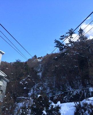 カチカチ山ロープウェイ