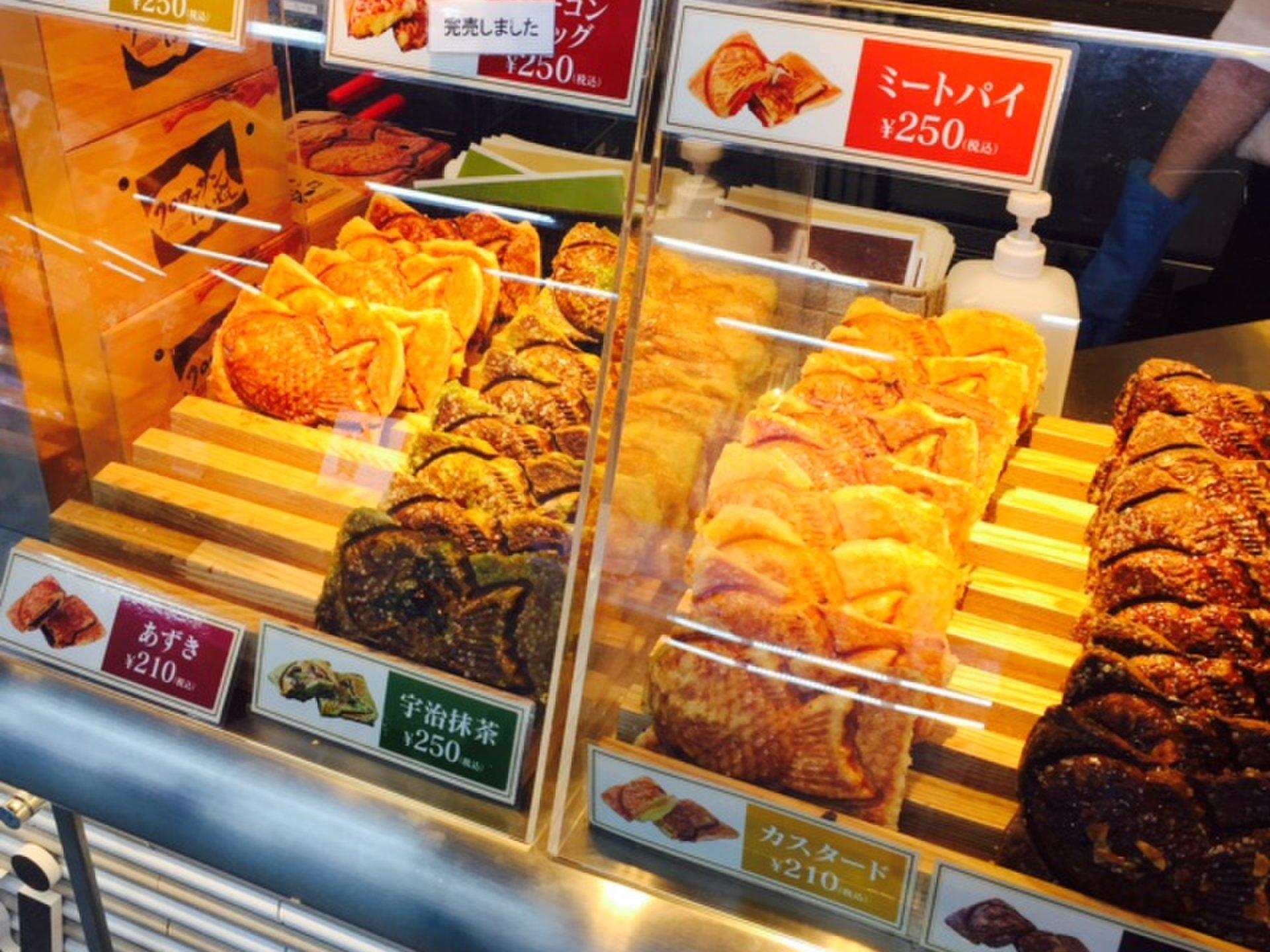 【コクーンシティ さいたま新都】レアなミートパイやコーングラタン味があるクロワッサンたい焼きのお店