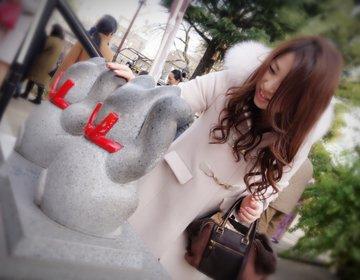 【浅草・恋を招く待ち受け画像を撮りに今戸神社へ】招き猫を撫で撫ですると良いことが♡