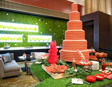 【5/31まで期間延長】ANAインターコンチネンタル東京・シャンパンバーの「ストロベリー・ピクニックブッフェ」が最高すぎた♡