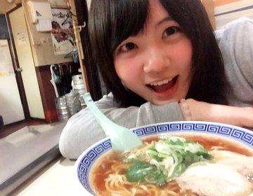 富山駅近にある昔ながらの美味しいラーメン屋さん「ひげ」♡