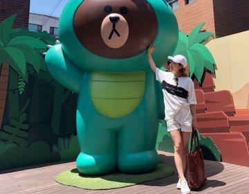 韓国おすすめ無料で遊べるスポット♡カロスキルの『ラインフレンズショップ』