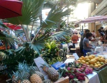 ハワイ旅行におすすめワイキキハイアットのファーマーズマーケット!便利なフルーツ&サラダ編