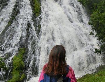 【旅猿ロケ地巡り】北海道の旅③オシンコシンの滝・オシンコシン館<車不要>