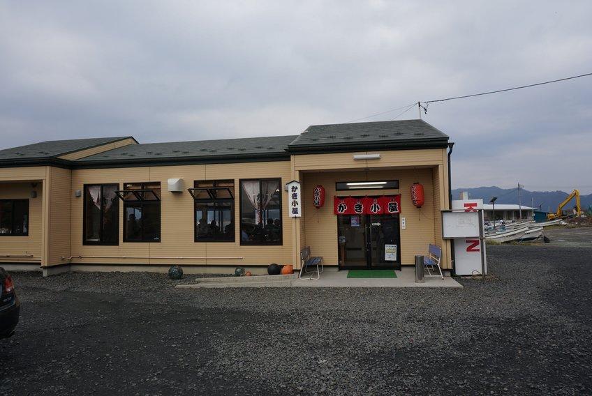 三陸山田 かき小屋