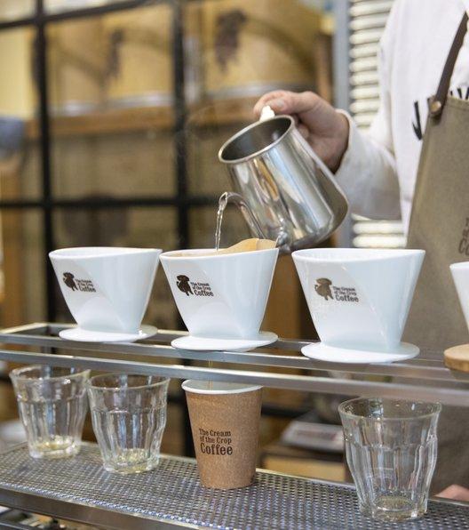 ザクリームオブザクロップコーヒー 清澄白河ファクトリー
