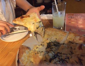 【渋谷】ALL500円の激うまピザなら渋谷・Ue CONA!