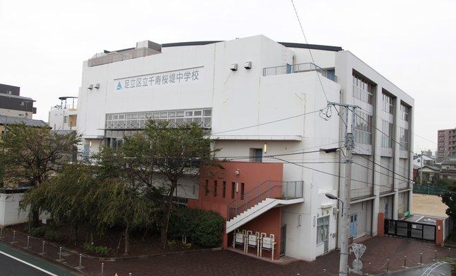 千寿桜堤中学校