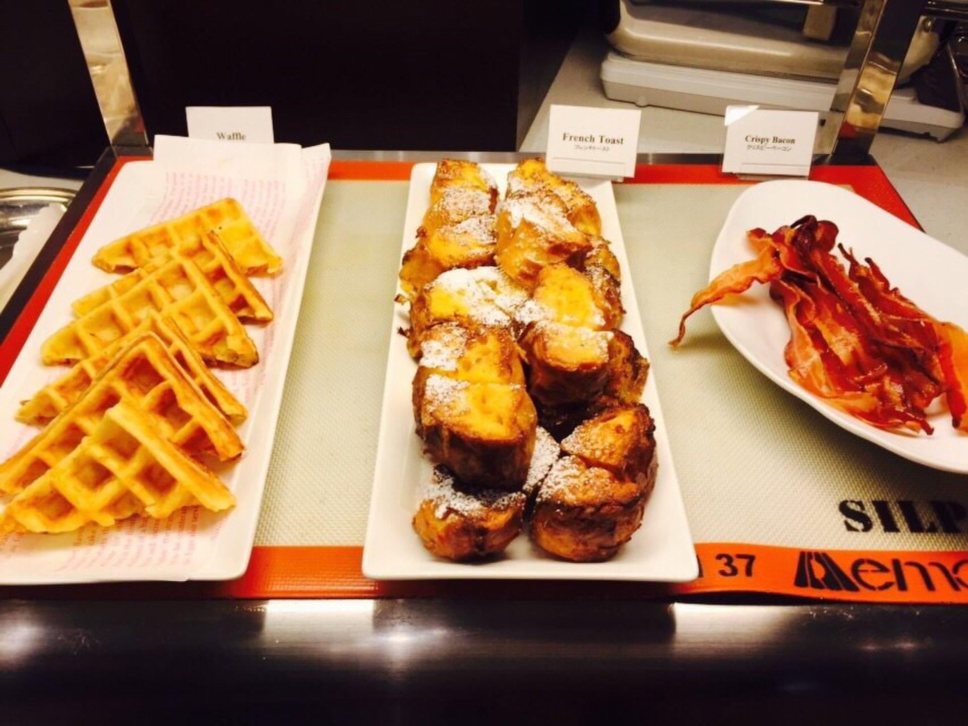 渋谷の朝はホテルでビュッフェ♪たまごがたっぷりしみ込んだフレンチトーストが美味しい!