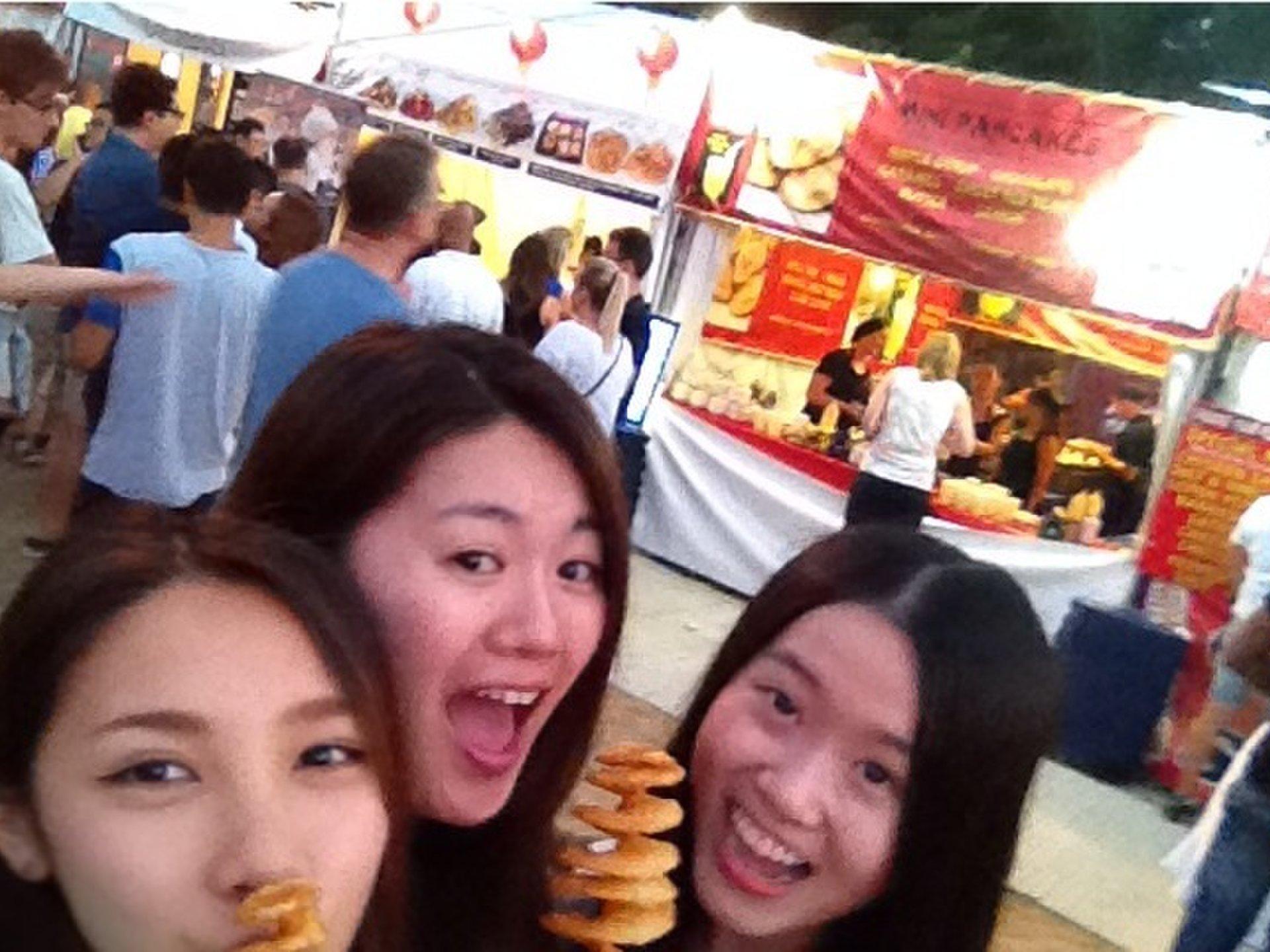 盛り上がる‼︎海外のお祭り〜アジア料理ナイトマーケットとは❤︎