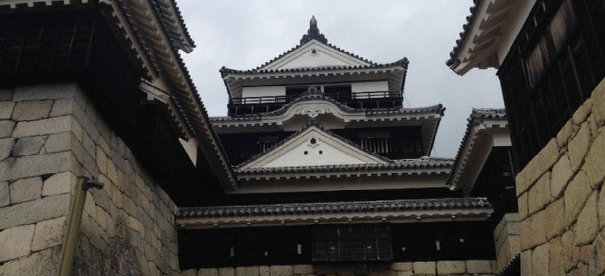 松山城 一ノ門
