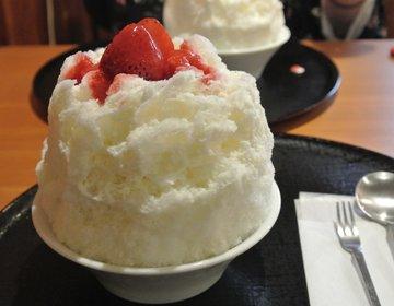 岐阜で2時間待ちのカキ氷!?「赤鰐」のいちご氷を食べに行ってみた。