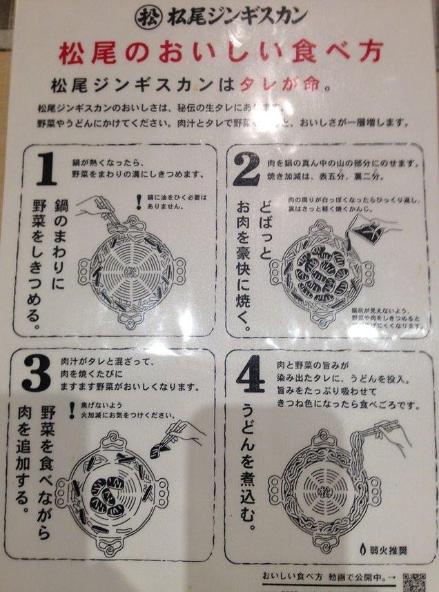 松尾ジンギスカン 札幌駅前店