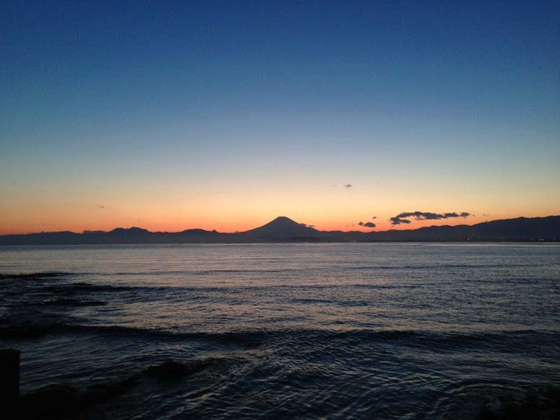 湘南の江ノ島デートにおすすめ!景色のいいテラスでしらす丼!夕方からのドライブデートに!