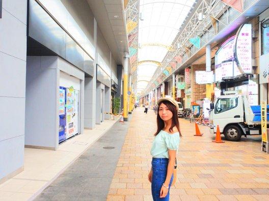 岡山駅前商店街 桃太郎市