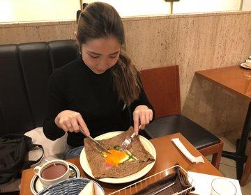 羽田空港おすすめカフェ♡紅茶のおいしいガレットランチ