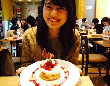 【渋谷駅直通】食べログ3.5!渋谷で1番おいしいパンケーキをめしあがれ♡