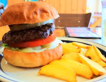【食べ応え抜群の極上のパテ】全国TOP100に選ばれた大阪を代表する人気ハンバーガーショップ!