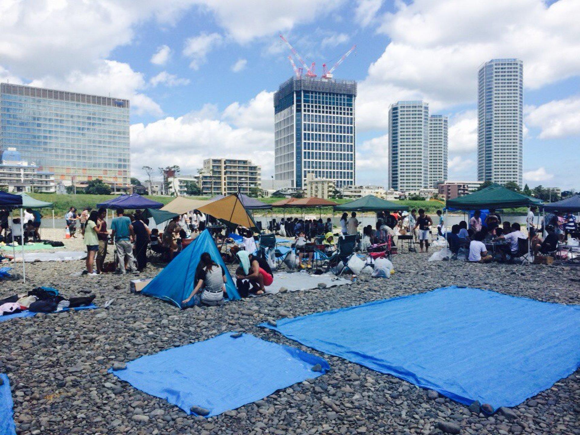 川崎市多摩川緑地バーベキュー広場