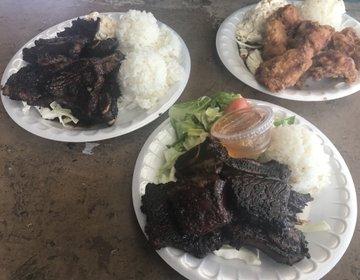 ハワイ ノースショアのロコおすすめ安くて美味しいプレートランチ!10ドル以下なのにボリューム大!