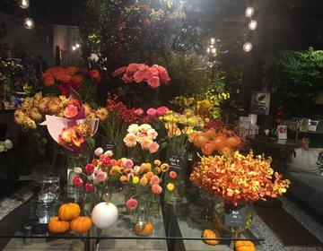 【青山・ランチ】お花に囲まれたランチはいかが?